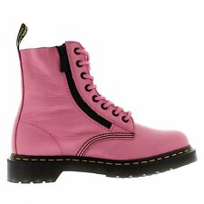 Dr.Martens Pascal W/Zip 8-Eyelet Pink Womens Boots