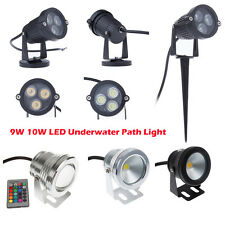 High Power LED Outdoor Landscape Garden Yard Path Flood Spot Lights 9W/10W  IP68