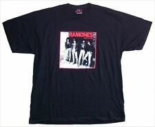 The Ramones Rocket To Russia Album Cover Band Pic Black T Shirt New Official