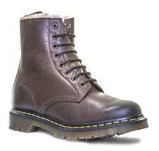 Dr Martens Serena Womens 8 Eyelet Fur Leather Boots
