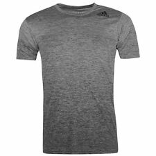 adidas Mens Freelift Gradient T Shirt Climalite Sport Short Sleeve Crew Neck Tee