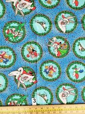LOONEY TUNES : 100% LICENSED cotton CHRISTMAS fabric 78x105cm final piece