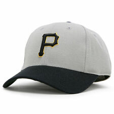 Pittsburgh Pirates American Needle Cooperstown Fitted Hat - Black/Gray - MLB