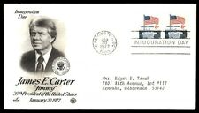 1977 Washington DC James Carter cachet inauguration first day cover