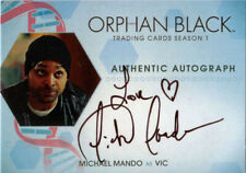 Orphan Black Season 1 Autograph Card MM Michael Mando as Vic