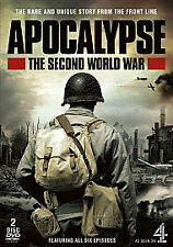 APOCALYPSE - THE SECOND WORLD WAR = RUNTIME 6 HOURS  = VGC
