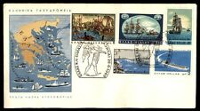 1969 June 28 ships illustrated first-day cover Greece with cachet