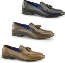 Red Tape AMPTHILL Mens High Quality Leather Slip On Classic Tassel Loafers
