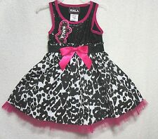 RMLA Easter Dress Girls Black White Leopard Sequins NWT ~ U CHOOSE!