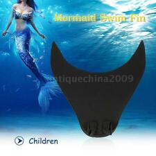 Mermaid Swim Fin Diving Monofin Swimming Foot Flipper for Adult Children E3I0