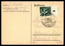 1938 March 6 pictorial cancel on card Germany  mailed