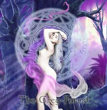 Solstice Forest Faerie Moon Fairy Night Elf Erotic Fantasy Art nude girl 8x10