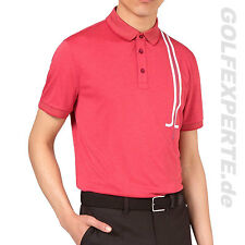 J.LINDEBERG GOLF MEN'S POLO SHIRT TYR REGULAR TX JERSEY POLOSHIRT CORAL MELANGE