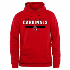 Ball State Cardinals Team Strong Pullover Hoodie - Red - NCAA