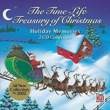 The Time-Life Treasury of Christmas: Holiday Memories by Various Artists (CD, S…