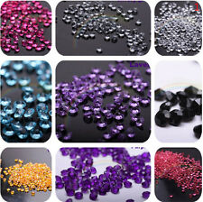 5000pcs Diamond Confetti Table Scatters Clear 4.5mm Wedding Party Decor 7