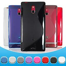 Silicone Case Sony Xperia P - S-Style  + protective foils