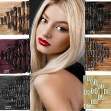 "7pcs 15"" 18"" 20"" 22"" Clip In Remy Real 100% Human Hair Extensions Full Head MX39"