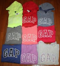 NEW NWT Womens GAP Arch Logo Pullover Hooded Sweatshirt Hoodie CHOICE 3 COLORS