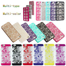 Carved Damask Vintage Pattern Matte Hard Case Skin For iPhone 5/5S/6/6s Plus NEW