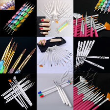 2017 Nail Art Design Painting Dotting Detailing Pen Brushes Bundle Tool Kit Set