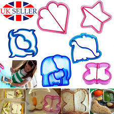 Lunch Kids DIY Sandwich Toast Cookies Cake Bread Biscuit Food Cutter Mold Mould