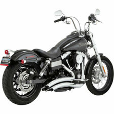 Escape Para Harley-Davidson® Dyna® Vance & Hines Big Radius Exhaust Chrome 26071