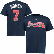 Jonny Gomes Atlanta Braves Majestic Official Name and Number T-Shirt - MLB