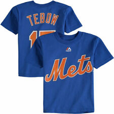 Tim Tebow New York Mets Majestic Toddler Player Name & Number T-Shirt - MLB