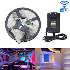 5M 2835 RGB 300  Flexible LED Strip Light Magic Home Mini RGB Wifi Controller