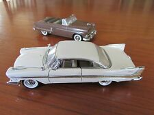 FRANKLIN MINT 1/43 Die Cast Model Car Lot  57 PLYMOUTH FURY + COLLECTORS CLASSIC