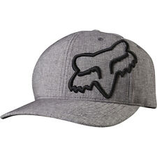 NEW FOX RACING HEATHER GREY CLOUDED FLEXFIT FLEX FIT CAP HAT LID MENS ADULT GUYS