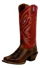 Tony Lama Western Boots Womens 3R Leather Cowgirl Square Toe 3R2302L