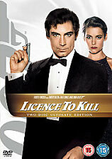 LICENCE TO KILL (Two-Disc Ultimate Edition) [DVD] Timothy Dalton NEW SEALED