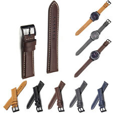 Genuine Leather WATCH Strap Wrist Band For Samsung Gear S3 Frontier/Classic ☇