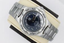 Tag Heuer Navy Blue Kirium Watch Mens WL511A Automatic Chronometer Mint Crystal