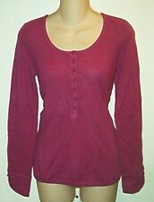 Bloomingdales NWT $128 100% Cashmere Henley  Sweater  Sm