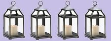"Brushed Silver Candle Lantern 12"" tall (Case of Twelve) Wedding Supplies 14125"