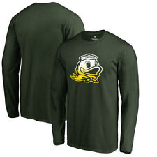 Oregon Ducks Fanatics Branded Gradient Logo Long Sleeve T-Shirt - Green - NCAA
