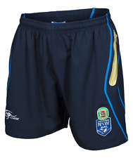 NEW SOUTH WALES BLUES STATE OF ORIGIN NRL 2017 MENS TRAINING SHORTS SOO NSW