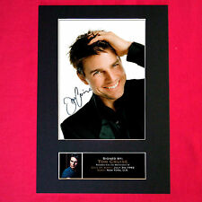 TOM CRUISE Mounted Signed Photo Reproduction Autograph Print A4 103