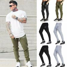 Gym Sport Men's Jogging Sweatpants Workout Running Casual Long Pants Trousers