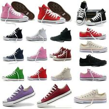 NEW Unisex Casual Canvas Shoes Chuck Taylor High Top Men Women Sneakers Trainers