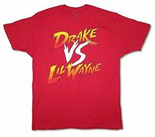 Drake vs Lil Wayne Tour Dates Mens Red T Shirt New Official Adult