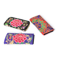 New Women Lady Ethnic Handmade Embroidered Wristlet Clutch Bag Handbag Wallet TO