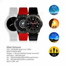 Android 5.1 Quad-core 3G Smart Wrist Watch 8GB Bluetooth GPS SIM WIFI For iPhone