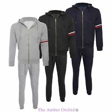 Mens Tracksuit Set Fleece Hoodie Top Bottoms Trackies Joggers Jogging Gym