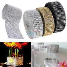 Diamond Mesh Wrap Ribbon Roll Cake Rhinestone Wedding Decor Party Supplies