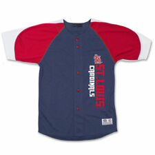 St. Louis Cardinals Stitches Youth Vertical Jersey - Navy/Red - MLB
