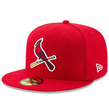 St. Louis Cardinals New Era Diamond Era 59FIFTY Fitted Hat - Red - MLB